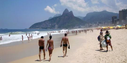 Rio de Janeiro. Bademote påIpanema