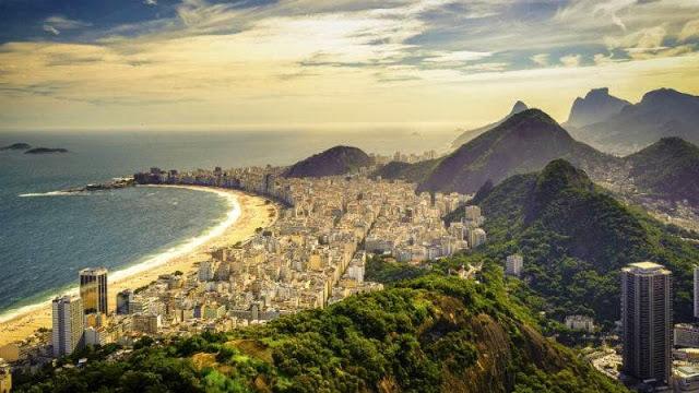 Copacabana. Alle strendersmor