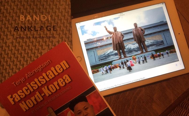 To bøker omNord-Korea