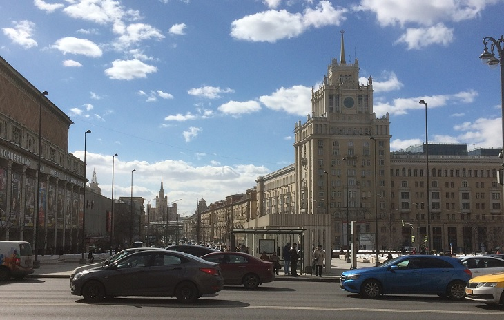 Weekend i Moskva medbøker